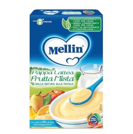 MELLIN - PAPPA LATTEA FRUTTA MISTA-180