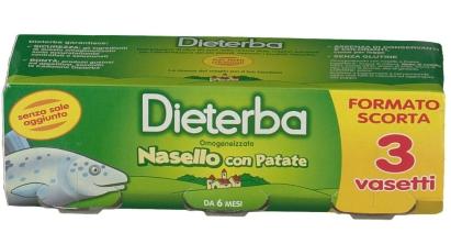 DIETERBA - OMOGENEIZZATO NASELLO CON PATATE-0