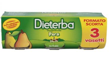 DIETERBA - OMOGENEIZZATO PERA-0