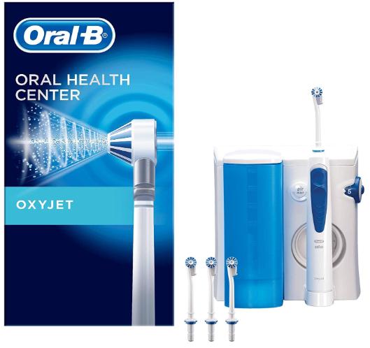 ORAL-B ORAL HEALTH CENTER OXYJET-253